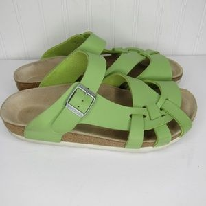Birkenstock Lime Green Sandals Size 38 (8)